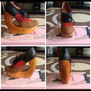 Oxford Look Heel